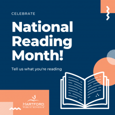 Superintendent's Message about National Reading Month