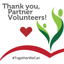 Thank You to our Partner Volunteers