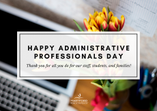 It's Administrative Professionals Day!