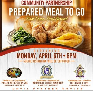 Community Partnership Prepared Meals To Go