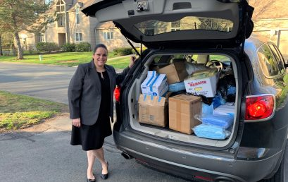 HPS Donates Protective Gear to Hartford Health Department