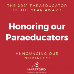 2021 Paraeducator of the Year Award Nominees