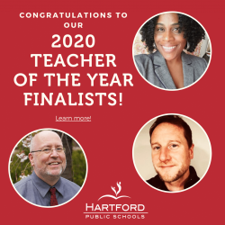 HPS Selects 3 Finalists for 2020 Teacher of the Year