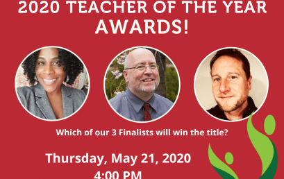 Join Us for the Virtual 2020 Teacher of the Year Awards