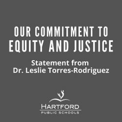 Our Commitment to Equity and Justice: Statement from Dr. Leslie Torres-Rodriguez