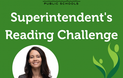 PreK-12 Students: Take the Superintendent's Summer Reading Challenge!