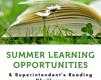 Summer Enrichment & the Superintendent's Reading Challenge