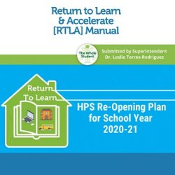 Read our Return to Learn Manual: Re-opening Plan for SY 2020-21