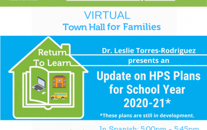 ICYMI: Watch our Virtual Town Hall for Families