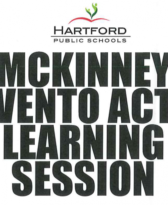 McKinney-Vento Act Virtual Learning Session 11/12/20