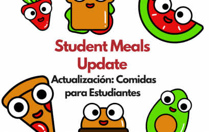 Don't Miss Student Meal Distributions at HPS Schools