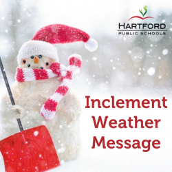 Inclement Weather Update for Families