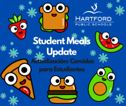 Student Meal Distribution: Seven Days of Meals on Tuesday, December 22