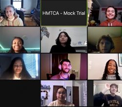 HMTCA Mock Trial Team Advances to Round 2 of State Competition
