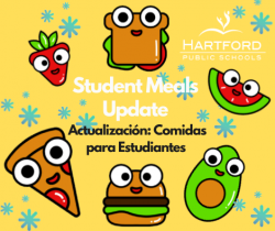 Shift to Yellow Status Monday March 1: Student Meals Distribution Update
