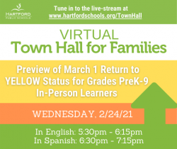 Join Us for a Virtual Town Hall about Yellow Status Shift