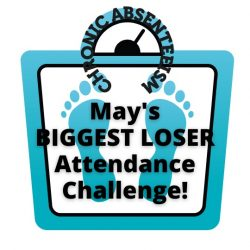 """Announcing the """"May You Be the Biggest Loser"""" Attendance Challenge!"""
