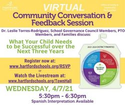 Join Us for a Community Conversation about What Your Child Needs to Be Successful Over the Next 3 Years