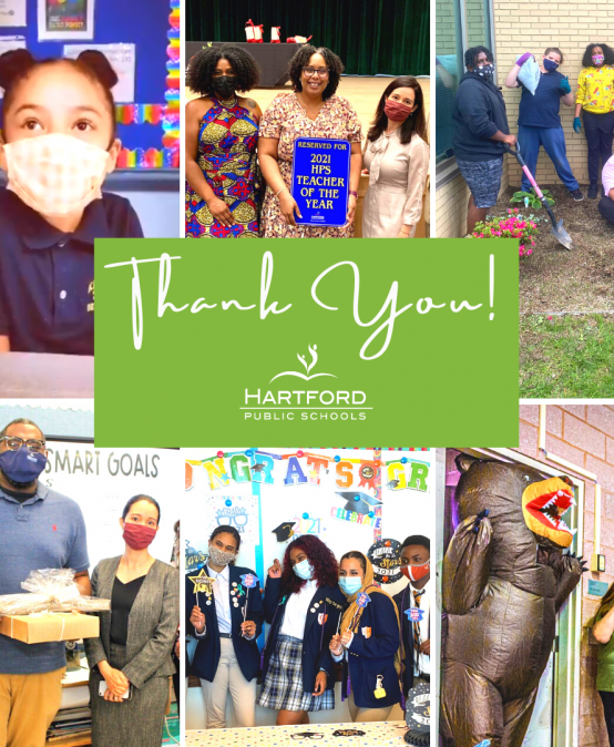 Hartford Public Schools End-of-Year Message of Gratitude and Celebration