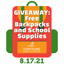 BACK TO SCHOOL GIVEAWAY: Free Backpacks and School Supplies, August 17