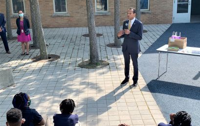 HPS Joined State Treasurer to Promote College Savings at SAND School