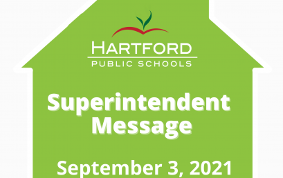 Message from the Superintendent: Reflections on the Start of School and the New Year Ahead