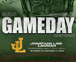 Weaver Football is back!Don't Miss Game Day this Saturday, September 18